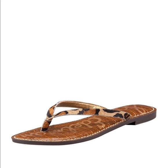 2dd46db32cfa Sam Edelman Gracie Leopard Sandal. M 5bb8257e5c445226416f4ca0